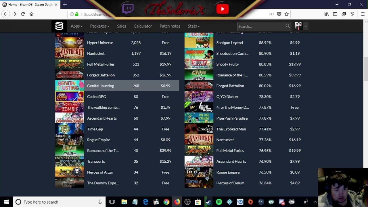 Steam DB - YouTube