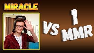 MIRACLE VS 1 MMR - FACELESS VOID DOTA 2