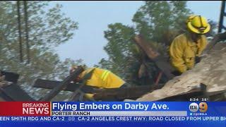 Saddle Ridge Fire Destroys At Least 25 Structures