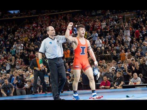 @IlliniWrestling Isaiah Martinez - 2016 NCAA Wrestling Champion (157 lb)