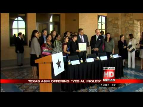 Yes al Inglés and Texas A&M-San Antonio Partnership