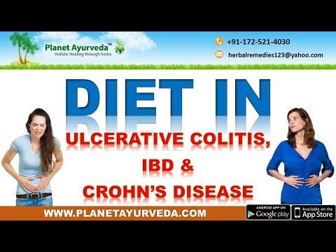 Diet in Ulcerative Colitis, Crohn's Disease & Inflammatory Bowel Disease