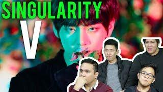 "WTF TAEHYUNG... BTS ""SINGULARITY"" 방탄소년단 (MV Reaction)"