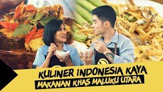 Kuliner Indonesia Kaya #15: Cara Mudah Memasak Ikan Kuah Kuning dan Papeda Khas Maluku Utara