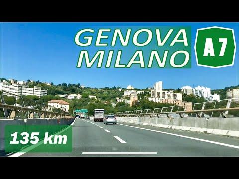 A7 | GENOVA - MILANO | Autostrada Dei Giovi | Percorso Completo