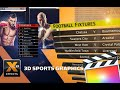 3D Sports Graphics For FCP X
