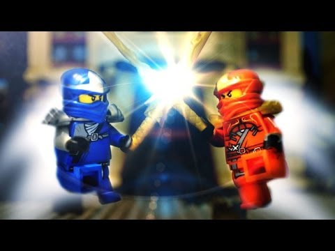 Ninjago stop motion - Jay VS Kai 樂高忍者動畫