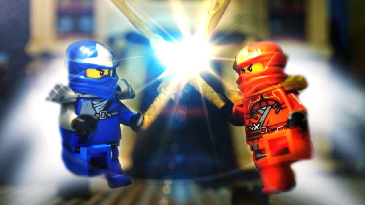 Ninjago stop motion jay vs kai youtube - Ninjago vs ninjago ...