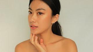 My makeup journey + Golden pink makeup   Haley Kim
