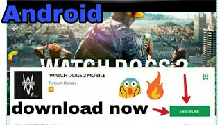 Breaking news? Watch dog 2 in mobile 😲 watching this video + by Gaming city