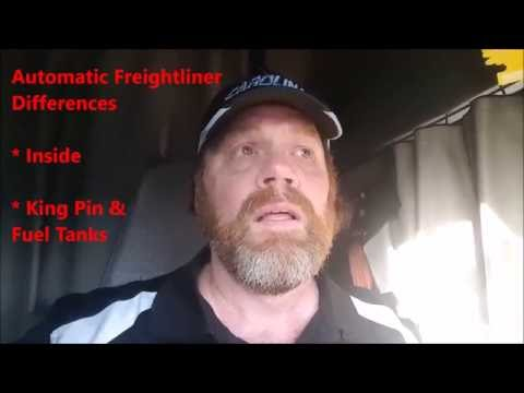 New CDL Truck Driver Tips Automatic Freightliner Differences vs Manual Transmission
