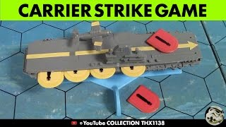 CARRIER STRIKE Naval Strategy Board Game Milton Bradley 1977 | Collection THX1138