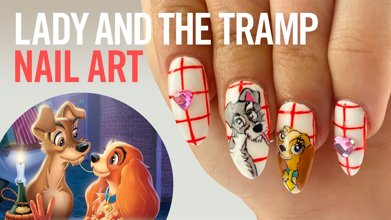 Lady and the Tramp Nail Art | Disney Style