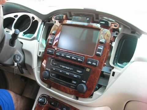 How To Remove Radio Cd Changer Navigation Display From