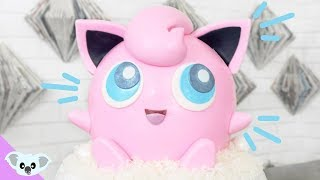JIGGLYPUFF CAKE | Detective Pikachu Pokemon Cake | Birthday Party| Cake Art | Koalipops