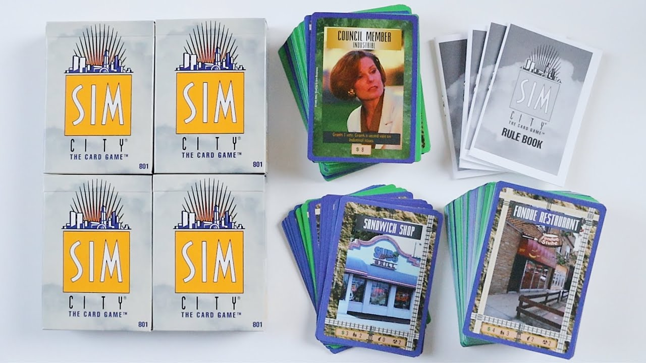 SimCity The Card Game Starter Deck
