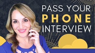 How To Do A Phone Interview Successfully - Phone Interview Tips