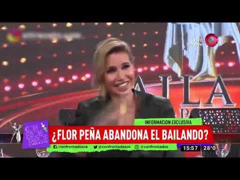 ¿Flor Peña Abandona El Bailando?