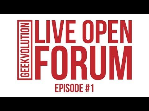 Live Open Forum With Captain Logan! #1