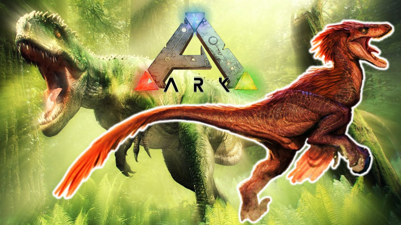 A CACCIA CON IL VELOCIRAPTOR Ark Survival Evolved Gameplay ITA 4 YouTube
