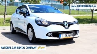 Renault Clio IV from Top Rent A Car Bulgaria | Прокат авто Болгария(Enjoy a quick video review of a Renault Clio IV Grand Tour available for car hire on our website https://toprentacar.bg Renault Clio IV is a model that offers a ..., 2016-09-26T10:17:28.000Z)