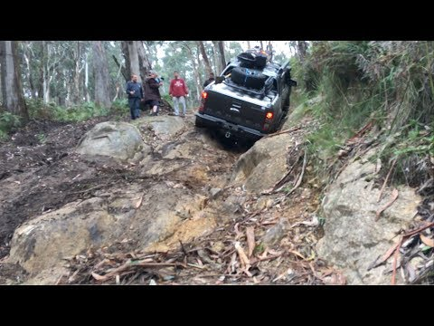 Ford Ranger PX2 Off Road Test Rocky Hill Climb