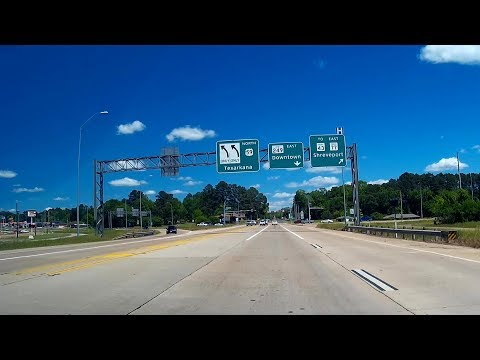 Road Trip #175 - US-59 North - Linden to Texarkana, Texas