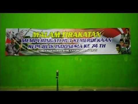 Malam Tirakatan Memperingati HUT Ke-74 Kemerdekaan Indonesia