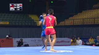 Sanshou Sanda 2016 World Cup Semi Finals Philipines vs Indonesia 52 Kg Men