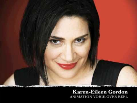 ACTOR ANIMATION VOICE-OVER DEMO - Karen-Eileen Gordon