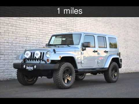 2012 jeep wrangler unlimited arctic edition for sale