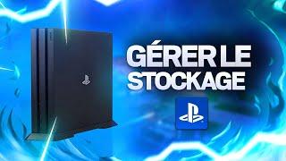(PS4) ASTUCE : Gérer le stockage système de sa PlayStation 4 !