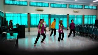 Latihan Senam SKJ 2012 (Tim Dinkes)