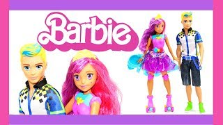 кукла Barbie Video Game Hero Match Game Princess DTW00 обзор