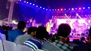 Me and pritiraj dancein. Bihar stage