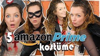 ich teste 5 Amazon Prime Halloween Kostüme Last Minute