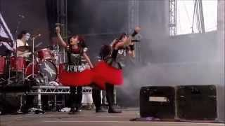 BABYMETAL - Gimme chocolate!! Live in Sonisphere Festival UK...