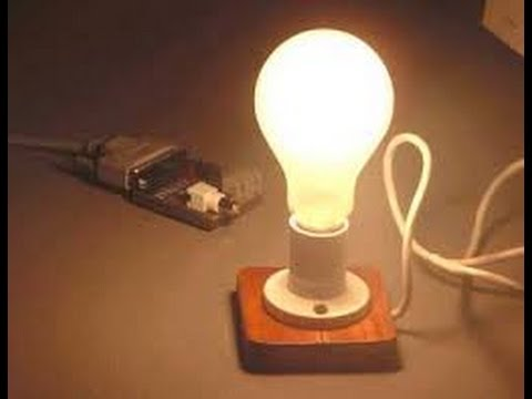 Science Experiments Light Bulb Experiment Youtube