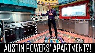THE WILDEST APARTMENT IN BEVERLY HILLS (AUSTIN POWERS)!!