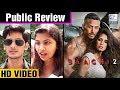 Baaghi 2 Public Review | Tiger Shroff, Disha Patani | LehrenTV