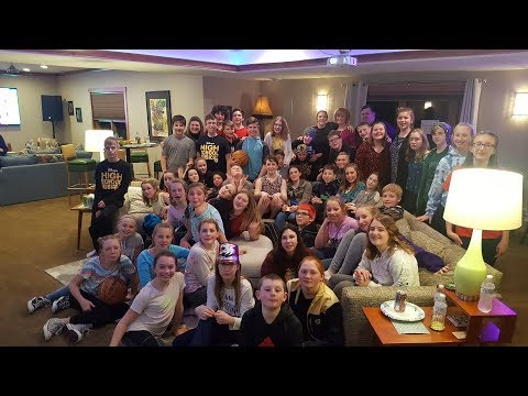 Merton Intermediate School High School Musical Jr. Wrap Party