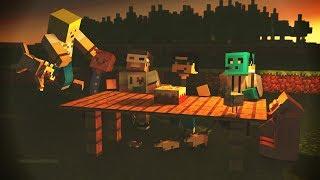 Minecraft: Family Survival - Bölüm 1 - Takım Çalışması!