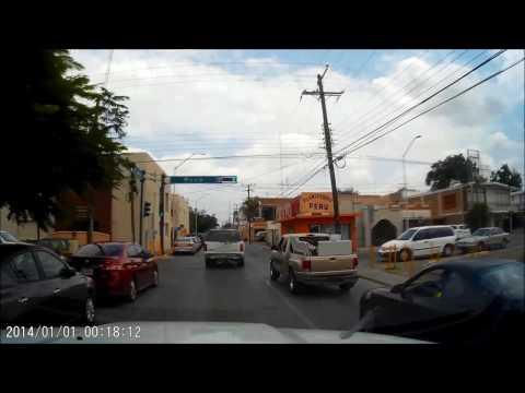 Driving in Nuevo Laredo
