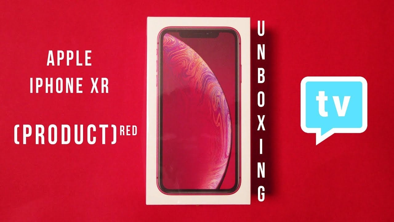Apple Iphone Xr Product Red Unboxing Youtube