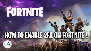 How to ENABLE 2FA on Fortnite ! FIX EMAIL NOT RECEIVED BUG [ FREE Heartspan Glider ]