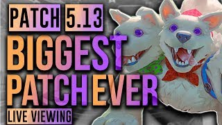 BEST PATCH EVER! (+Free Gems on PTS!) SMITE Patch 5.13 Mid Season Patch NOTES Live Viewing