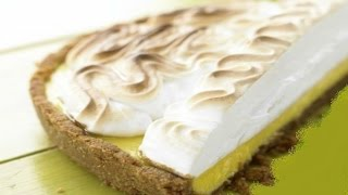 Торт — безе с лаймовым кремом