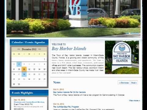 Bay Harbor Islands - South Florida Website Designers