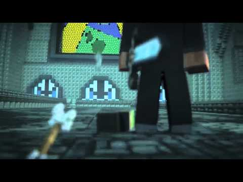 Minecraft Herobrine Light Em Up AMV