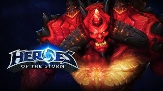 ♥ Heroes of the Storm (Gameplay) - Diablo, Lord of Terror! (HoTs Quick Match)